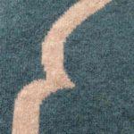 teal lambs wool prayer mat 1