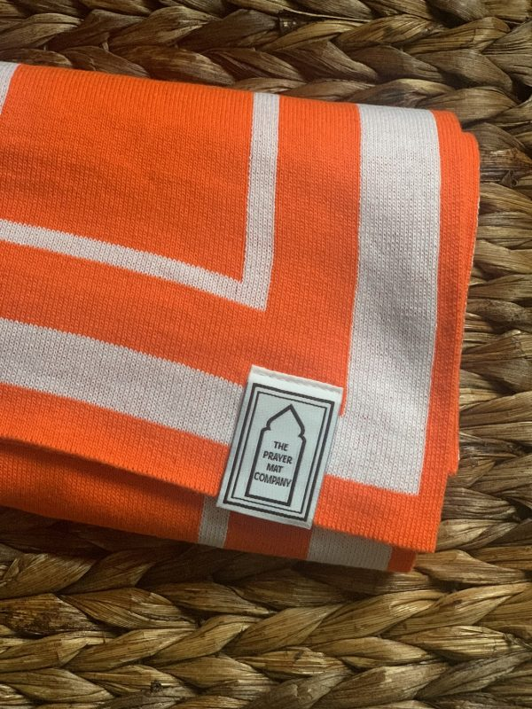 best luxury unique praying salah mat orange