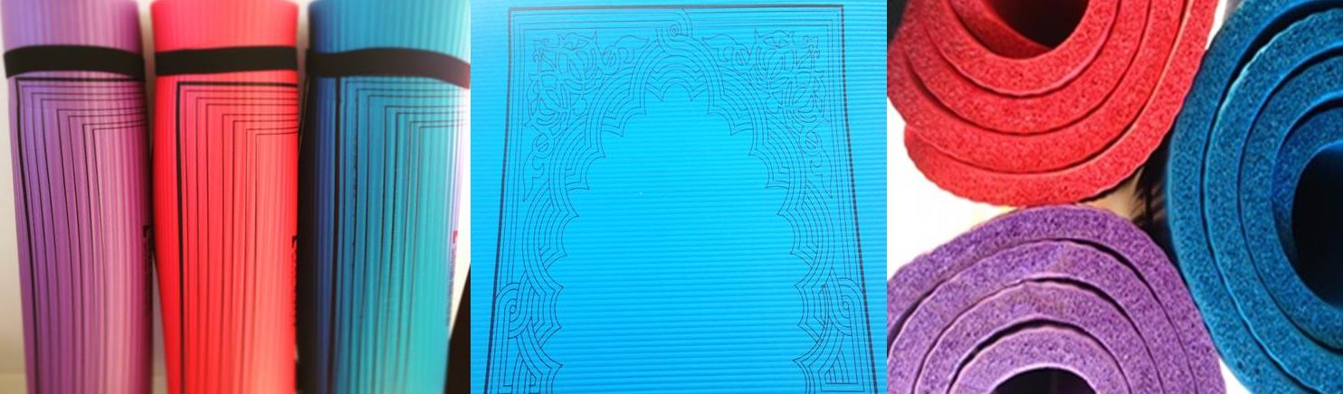 padded prayer mats