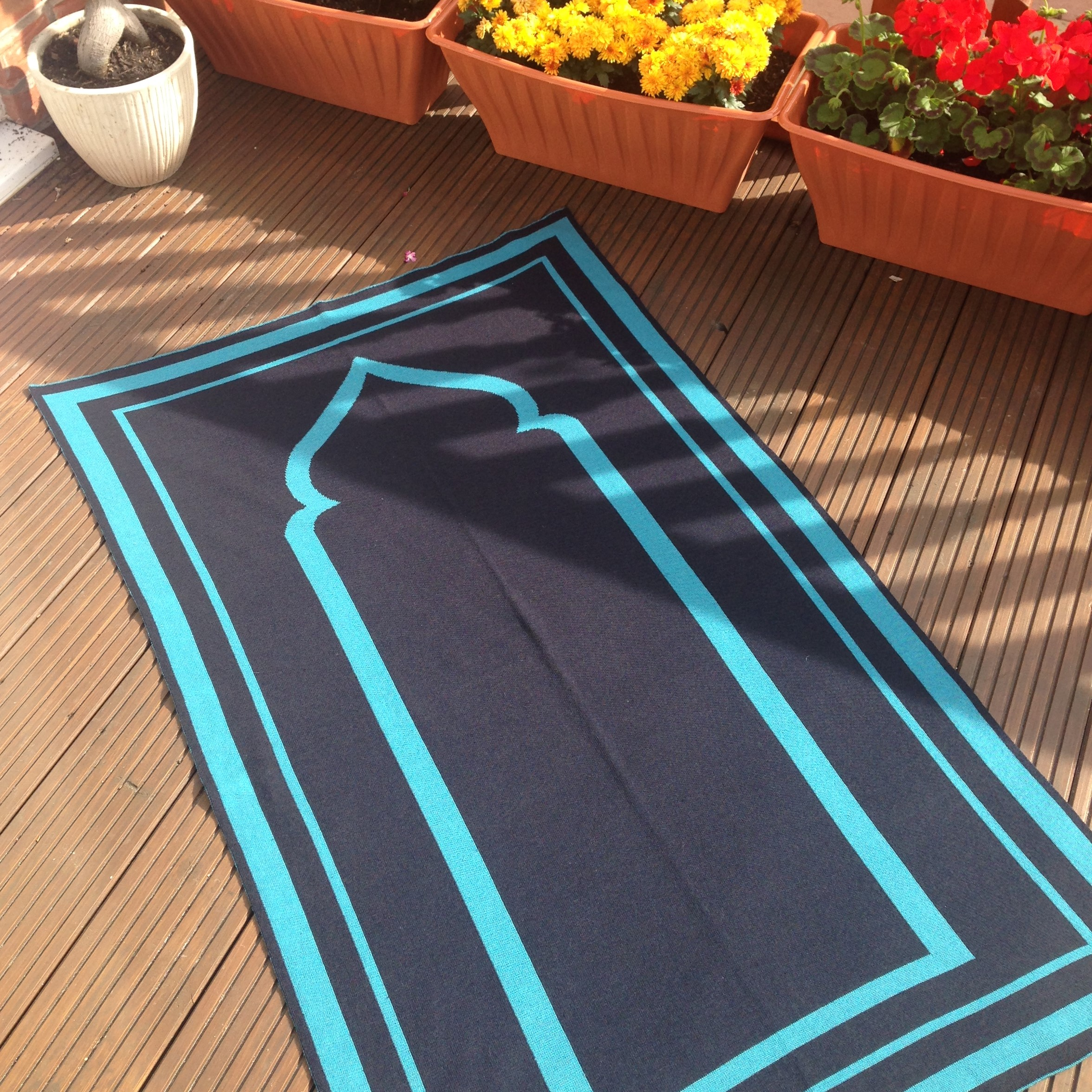 Padded Prayer Rug Home Decor