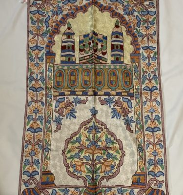Handmade Embroidered Prayer Mat Rug Carpet
