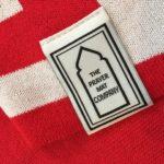 Red prayer mat