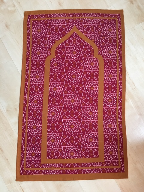 designer pocket travel prayer mat