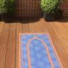 Blue pocket travel prayer mat sejadah