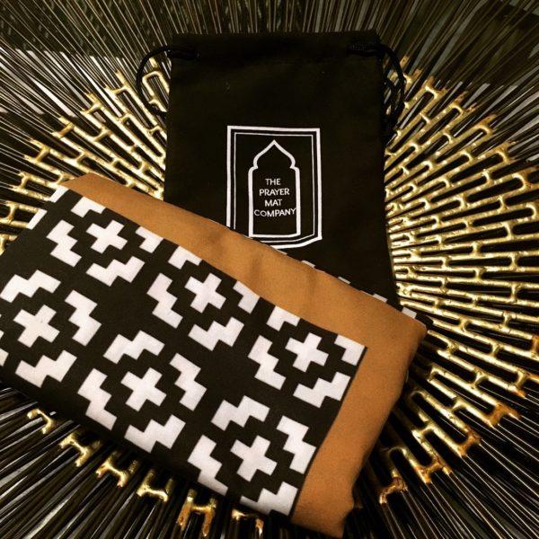 british designer pocket travel prayer mat sejadah musallah