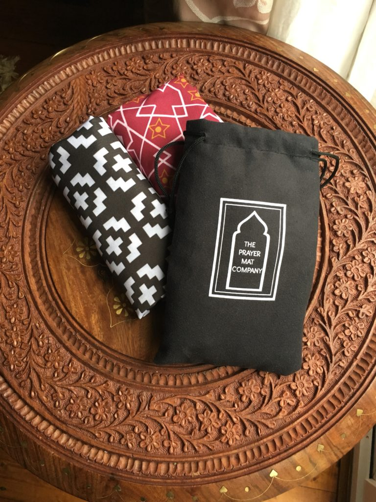 pocket travel prayer mat sejadah