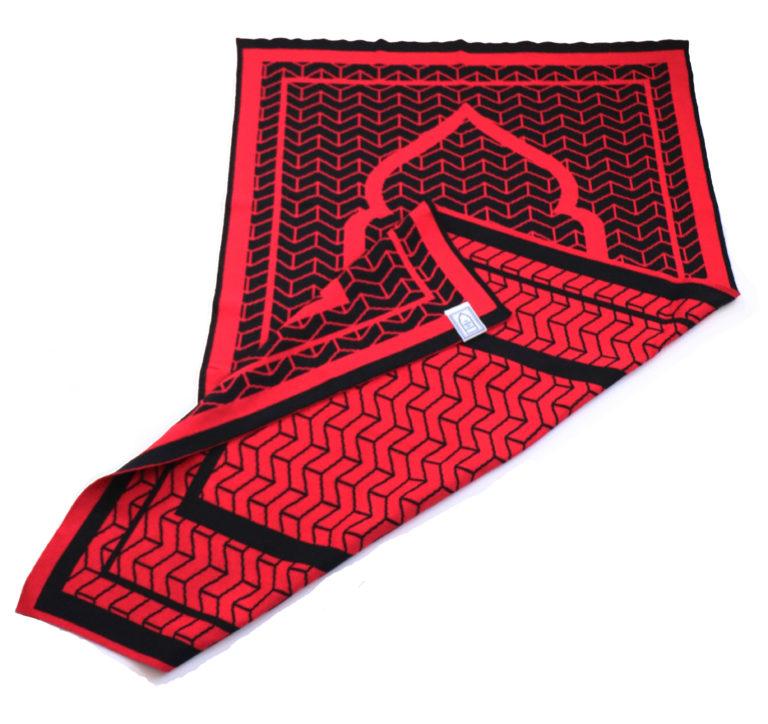 Red Prayer Mat rug british designer