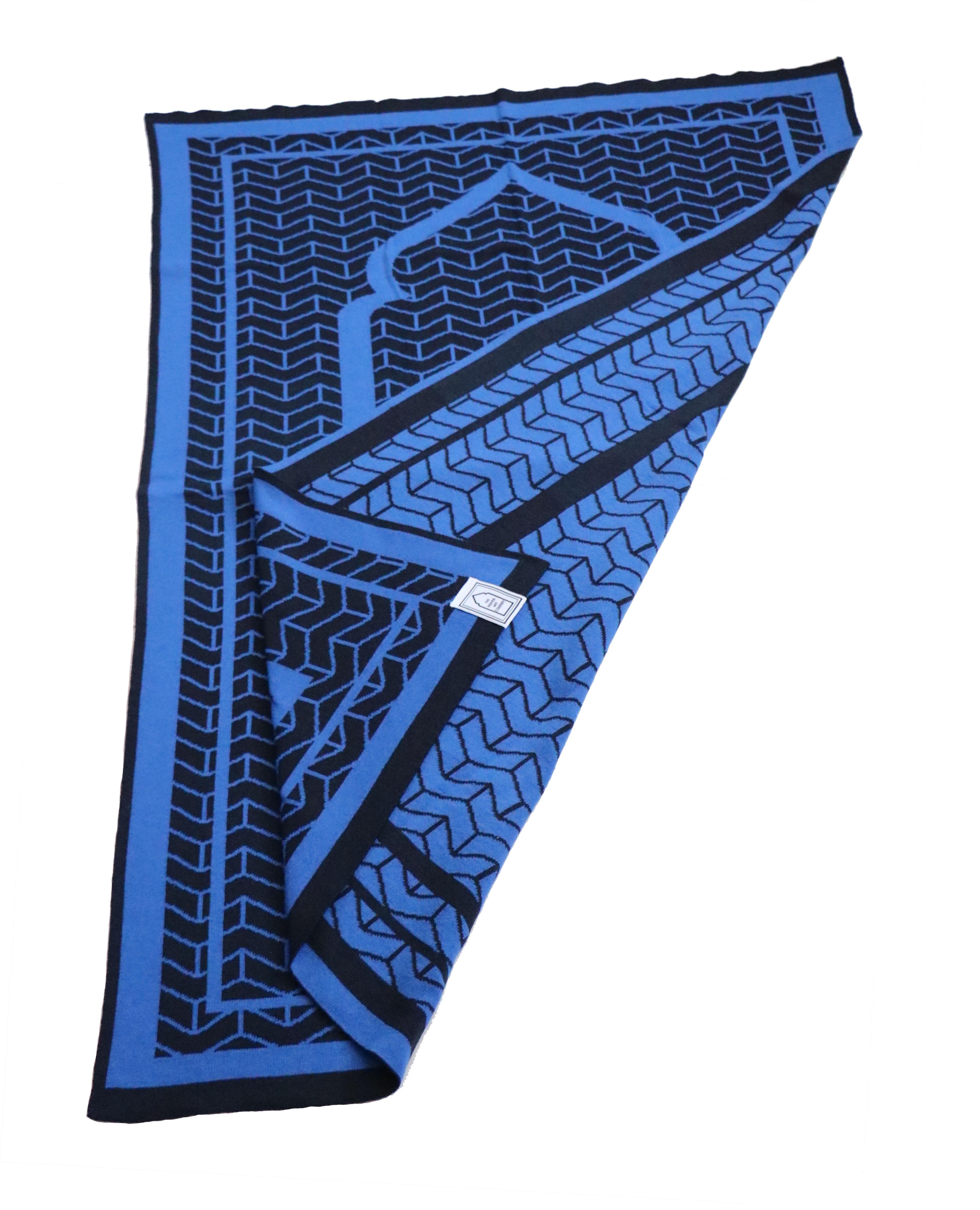 Navy Prayer Mat rug british designer