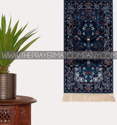 Blue Haramain Rawdah Prayer Rug Mat