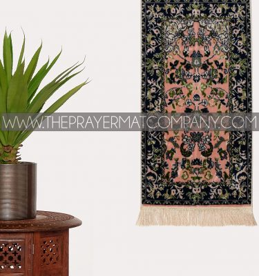 Pink Haramain Rawdah Prayer Rug Mat