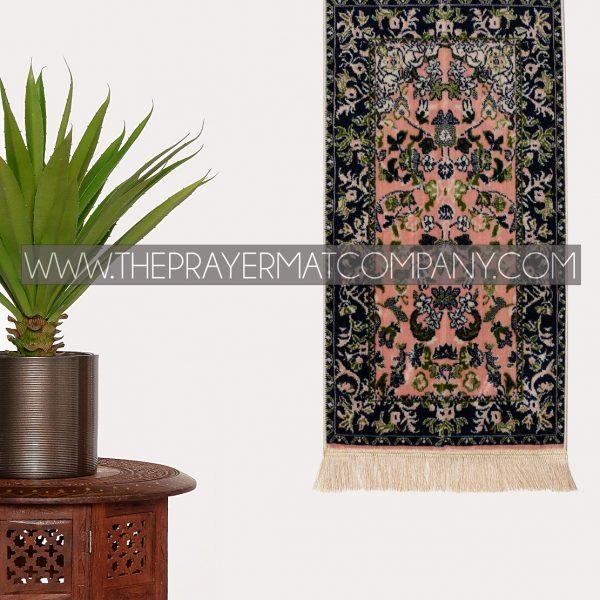 Pink Haramain Rawdah Prayer Rug Mat