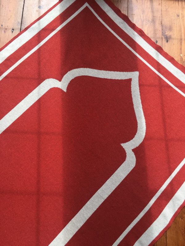 luxury high quality british designer orange contemporary prayer mat rug salah sejadah musalla