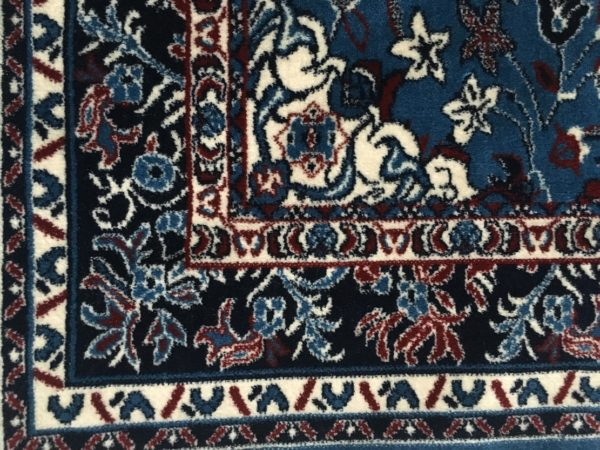 Blue Haramain inspired Prayer Mat Rug Carpet Made in Madinah Munawwarah