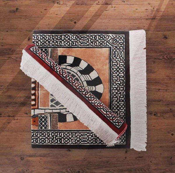 Al-Haram Gate Prayer Mat Rug Carpet Made in Madinah Munawwarah