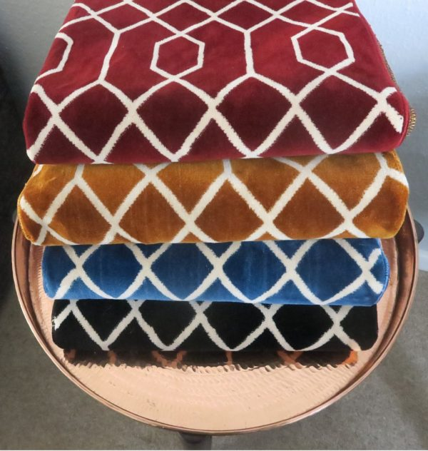 Geometric Patttern thick Luxury Quality Unique Prayer Mat Madinah al munawarrah