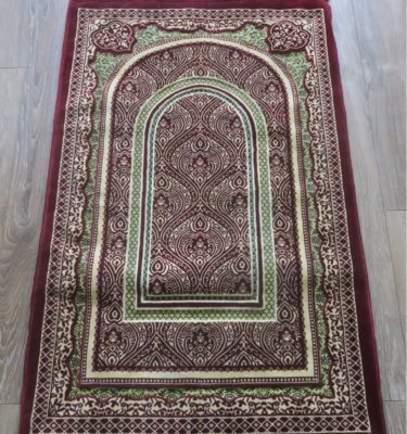 Luxury Thick Sponge Padded Prayer Mat made in madinah prayer rug
