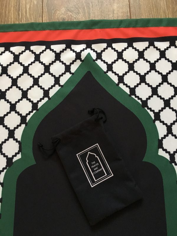 palestine pocket travel prayer mat musallah palestinian