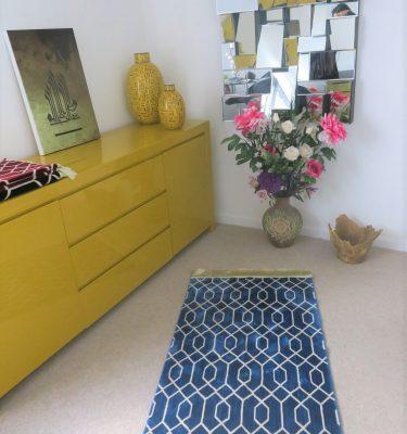 Geometric Patttern thick Luxury Quality Unique Prayer Mat Madinah al munawarrah