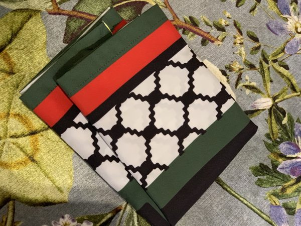 palestine flag pocket travel prayer mat musallah palestinian