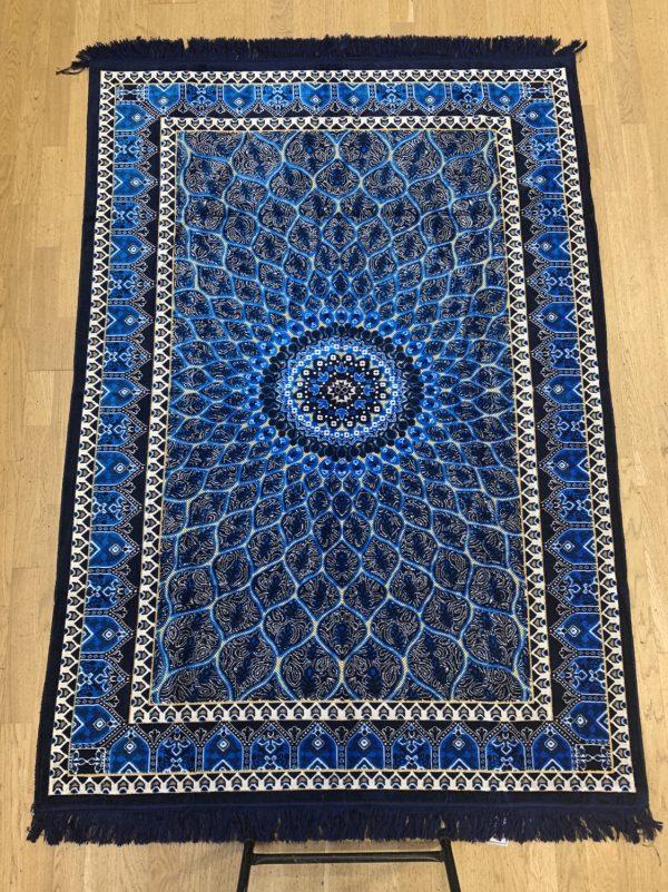 Luxury Large Group Prayer Rug Made in Madinah