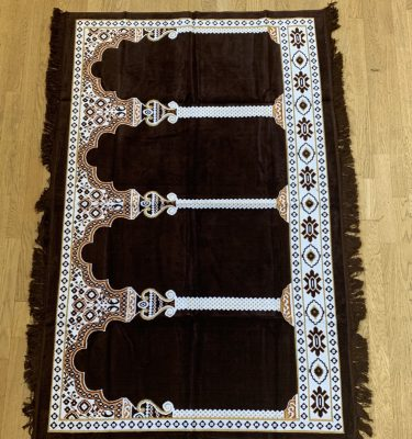 brown Group Prayer Rug Rolls