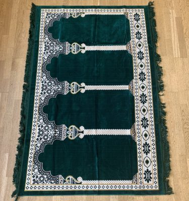 Group Prayer Rug Roll Green