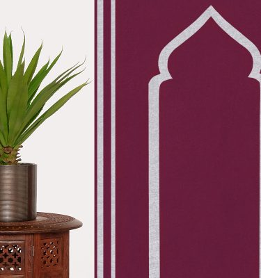 Prayer Mat Praying Sujood Islam Ramadan Muslim Praying Sejadah Raspberry Purple