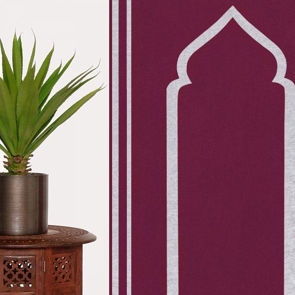 Prayer Mat Praying Sujood Islam Ramadan Muslim Praying Sejadah Raspberry Purple