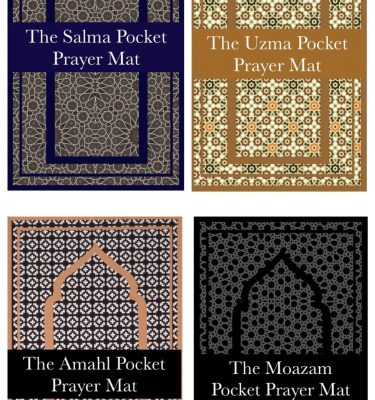 Pocket travel prayer salah mat for ramadan eid islamic gift
