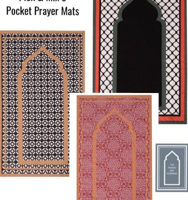 Pocket Travel Prayer Mat Musalah Sejadah