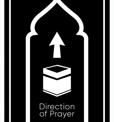 Prayer Direction - Qibla Direction Cards