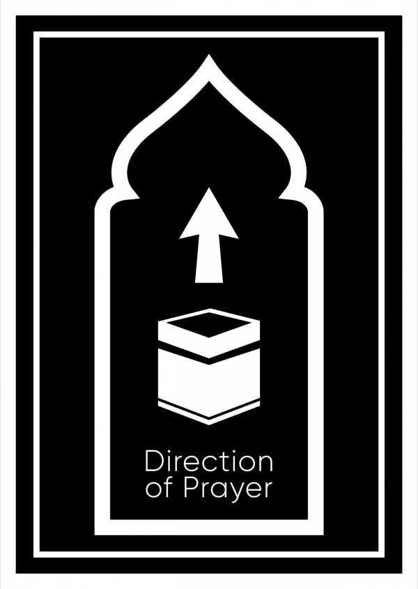 Prayer Direction - Qibla Direction Cards