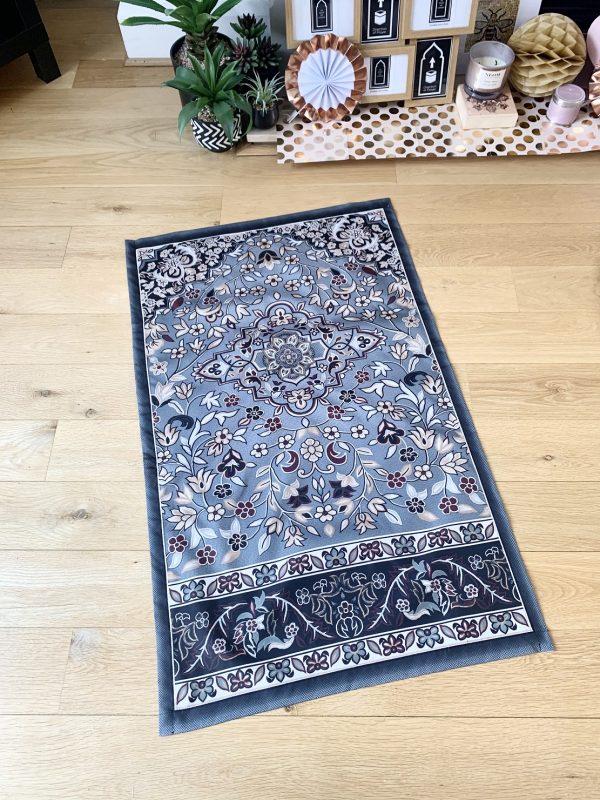 Rawdah Haramain Prayer Carpet Inspired poctet salah mat for prayer